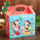 Подарочная коробка «С Новым Годом!», Микки Маус и его друзья, 15 х 12 х 7 см