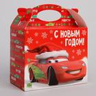 Подарочная коробка «С Новым Годом!», Тачки, 15 х 12 х 7 см