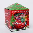 """Коробка подарочная """"С Новым годом"""", Тачки, 10 х 13,3 х 10 см см"""