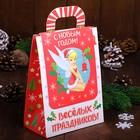 """Коробка подарочная """"С Новым годом"""", Феи, 15 х 20 х 8 см"""