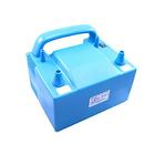 Компрессор с двумя клапанами плавного нажатия, цвет голубой