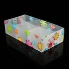 """Короб для хранения 6 ячеек без крышки 30,5х16х8 см """"Цветы"""" цвет белый - фото 308334509"""