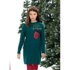 Платье для девочки, рост 122 см, цвет изумрудный