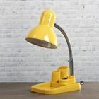 Настольная лампа, 60 Вт, E27, жёлтая