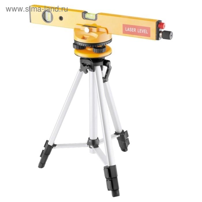 Уровень лазерный Matrix 350299, 400 мм, 1050 мм штатив, 3 глазка, кейс