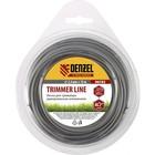 Леска для триммера Denzel 96193, армированная алюминием, X-Pro, круглая, 2,4мм х 15м