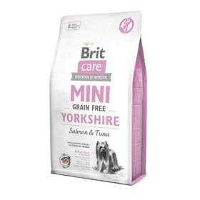 Сухой корм Brit Care MINI GF Yorkshire для йорков, беззерновой, 2 кг.