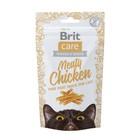 Лакомство Brit Care Meaty Chicken для кошек, курица, 50 г