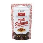 Лакомство Brit Care Meaty Salmon для кошек, лосось, 50 г
