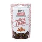 Лакомство Brit Care Meaty Tuna для кошек, тунец, 50 г