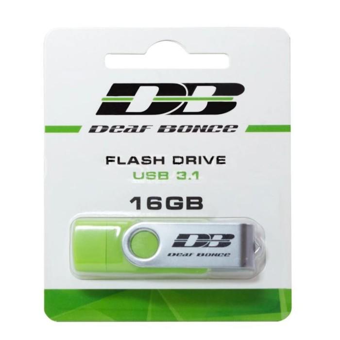 Флешка Deaf Bonce, 16 Gb, USB 3.1/Type-C/MicroUSB