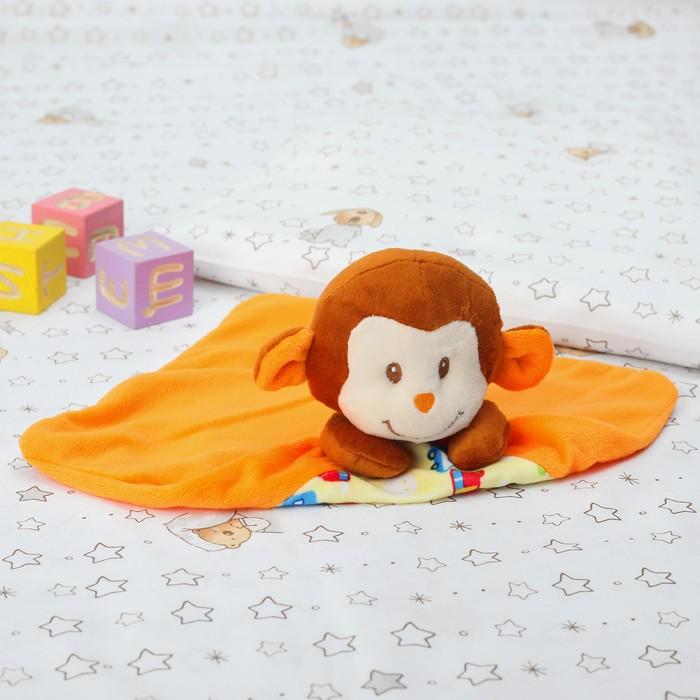 Игрушка для новорождённых «Обезьянка», с машинками
