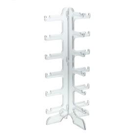 Подставка под очки 16*14,5*35,5 см, шесть ярусов, прозрачная Ош