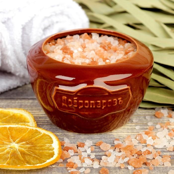 """Испаритель с гималайской солью """"Добропаровъ"""" с маслом апельсина"""
