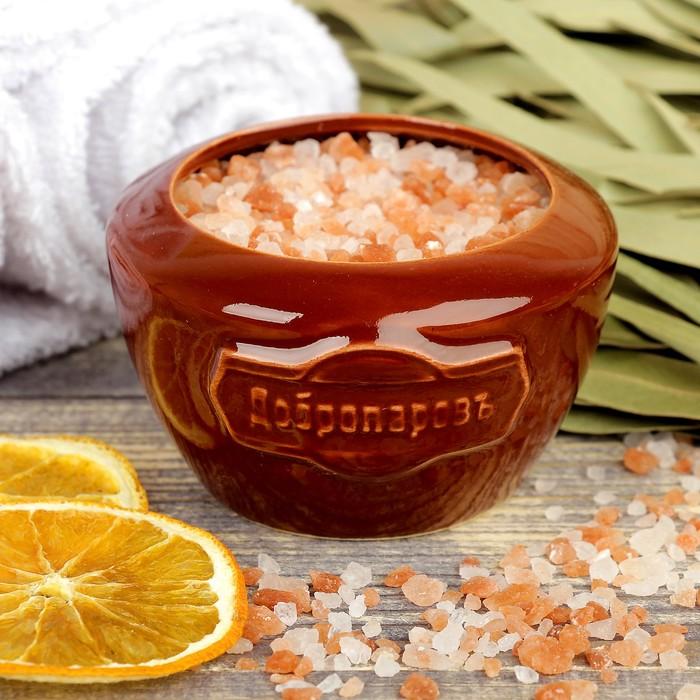 """Испаритель с гималайской солью """"Добропаровъ"""" с маслом мандарина"""