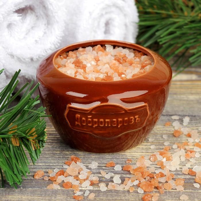 """Испаритель с гималайской солью """"Добропаровъ"""" с маслом пихта"""