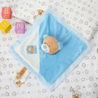 Игрушка для новорождённых, «Медвежонок», голубой носик