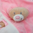 Игрушка для новорождённых «Медвежонок», розовый носик - фото 105499228
