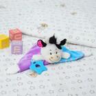 Игрушка для новорождённых «Коровушка», с грызунком