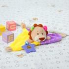 Игрушка для новорождённых «Львёнок», с грызунком