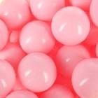 Шарики для сухого бассейна с рисунком, диаметр шара 7,5 см, набор 90 штук, цвет розовы