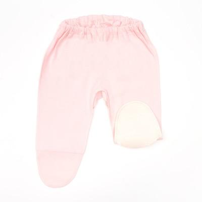 Ползунки для девочки, рост 50 см, цвет розовый