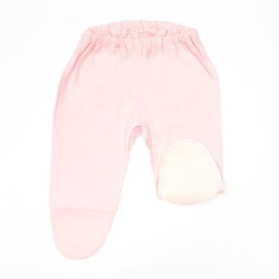 Ползунки для девочки, рост 80 см, цвет розовый