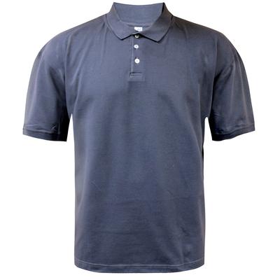 Футболка мужская поло, цвет серый, размер 62