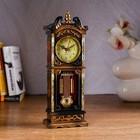 """Часы """"Колонна с маятником"""", микс"""