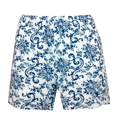 Шорты женские, цвет синий, размер 52