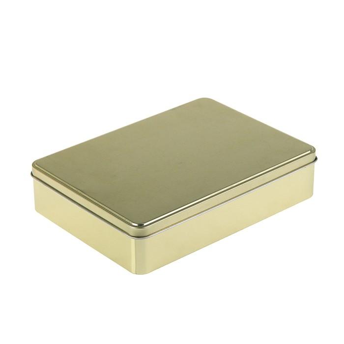 """Подарочная коробка """"Золото"""", 22,1 х 16,5 см"""