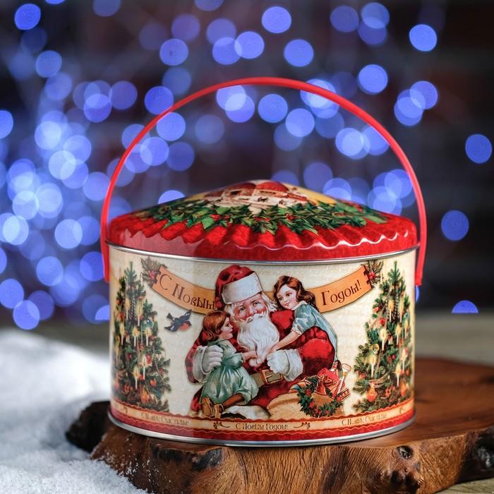 "Подарочная коробка ""Шатер ретро"", 15,3 х 9,5 см"