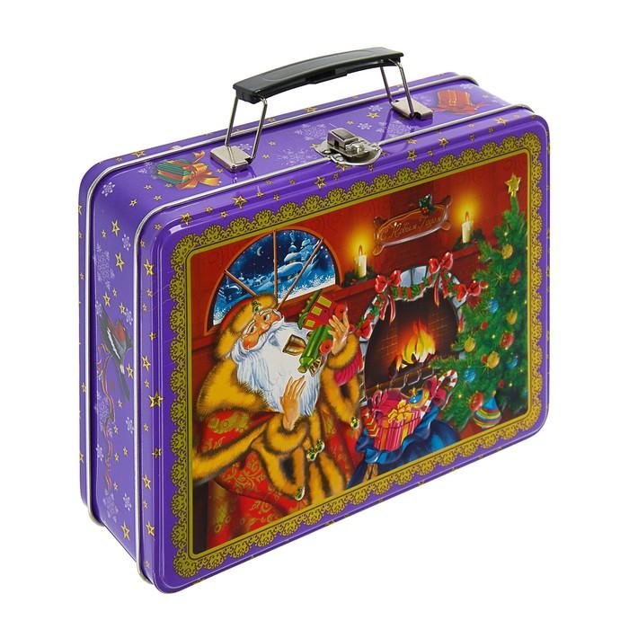 """Подарочная коробка """"Новогодний сюрприз """", 22,1 х 16,5 см"""