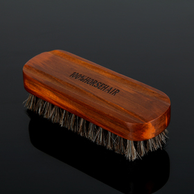Brush Shoe with horsehair 13x4x4 cm
