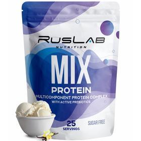 Протеин RusLabNutrition Multi Protein 70% (800 г) ваниль