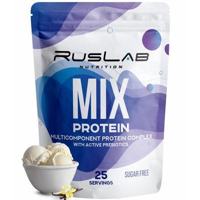 Протеин RusLabNutrition Multi Protein 70% (950 г) ваниль