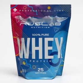 Протеин RusLabNutrition, 75 %, ваниль, 800 г