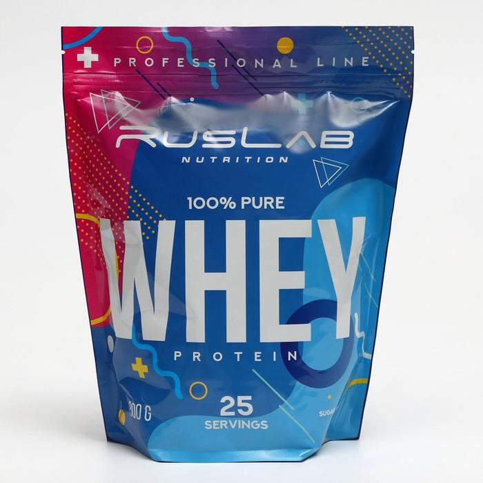 Протеин RusLabNutrition Whey Protein 75% (950г) ваниль