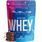 Протеин RusLabNutrition Whey Protein 75% (950г) шоколад