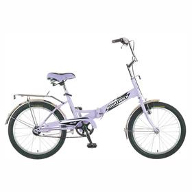 """Велосипед 20"""" Novatrack TG30, 2017, 1ск., цвет сиреневый"""