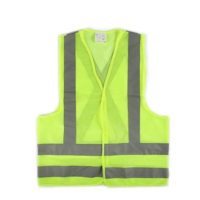 The motorist vest, yellow, size XXL, 68 x 58 cm, Velcro