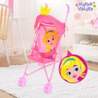 "Stroller ""Crown"" with ears, plastic frame"