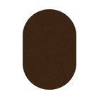 Ковёр овальный Shaggy ultra s600, размер 150 х 300 см, цвет brown - фото 7929142