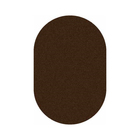 Ковёр овальный Shaggy ultra s600, размер 100 х 200 см, цвет brown - фото 7929144