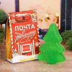 """Фигурное мыло-ёлочка """"Новогодняя почта!"""" с ароматом лимона, ручная работа"""