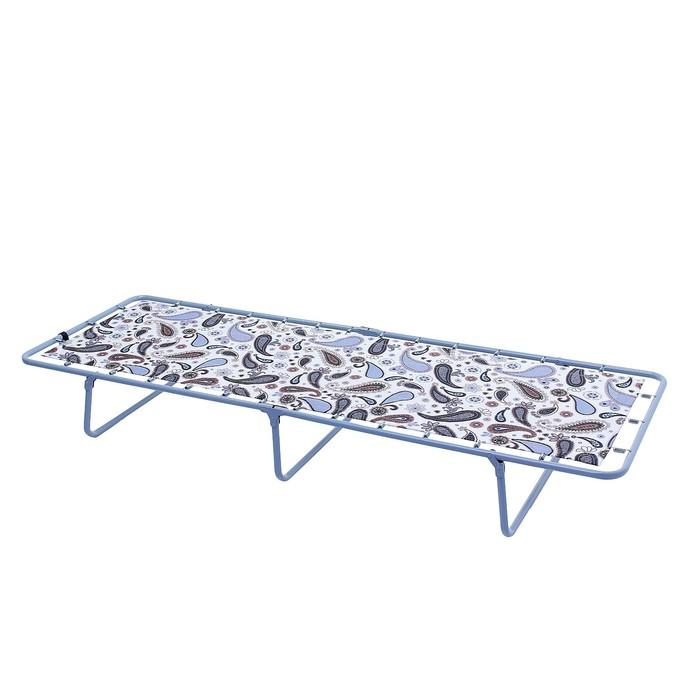 "Раскладушка ""Спарта"", 192 × 65 × 24 см, максимальная нагрузка 90 кг"