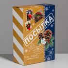 Коробка складная «Посылка», 16 × 23 × 7.5 см