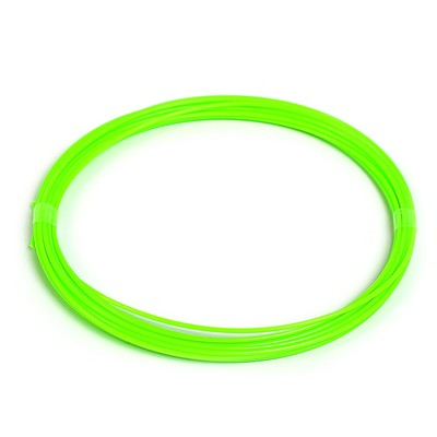 Пластик ABS, для 3Д ручки, длина 5 м, зеленый - светится в темноте (УФ лучах)