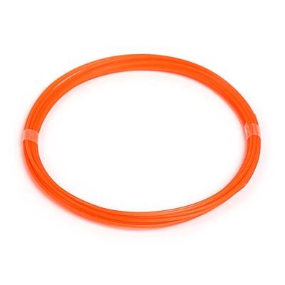 PLA plastic for 3D pen, length 5 m, orange