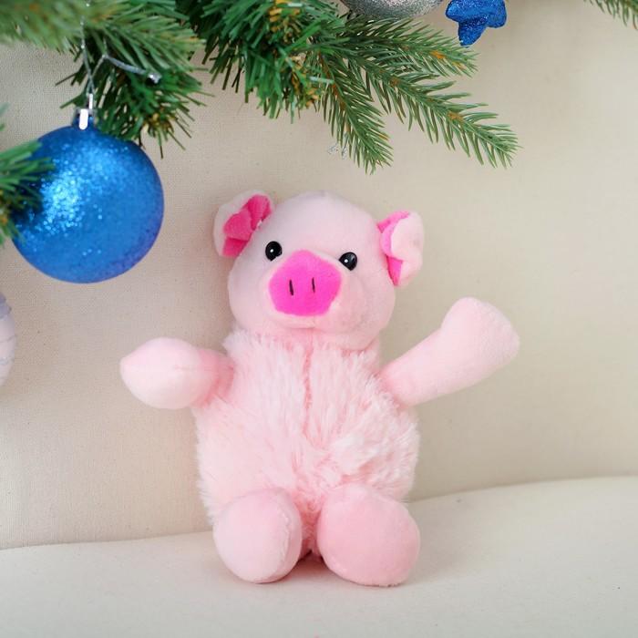 """Мягкая игрушка """"Розовая свинка"""""""